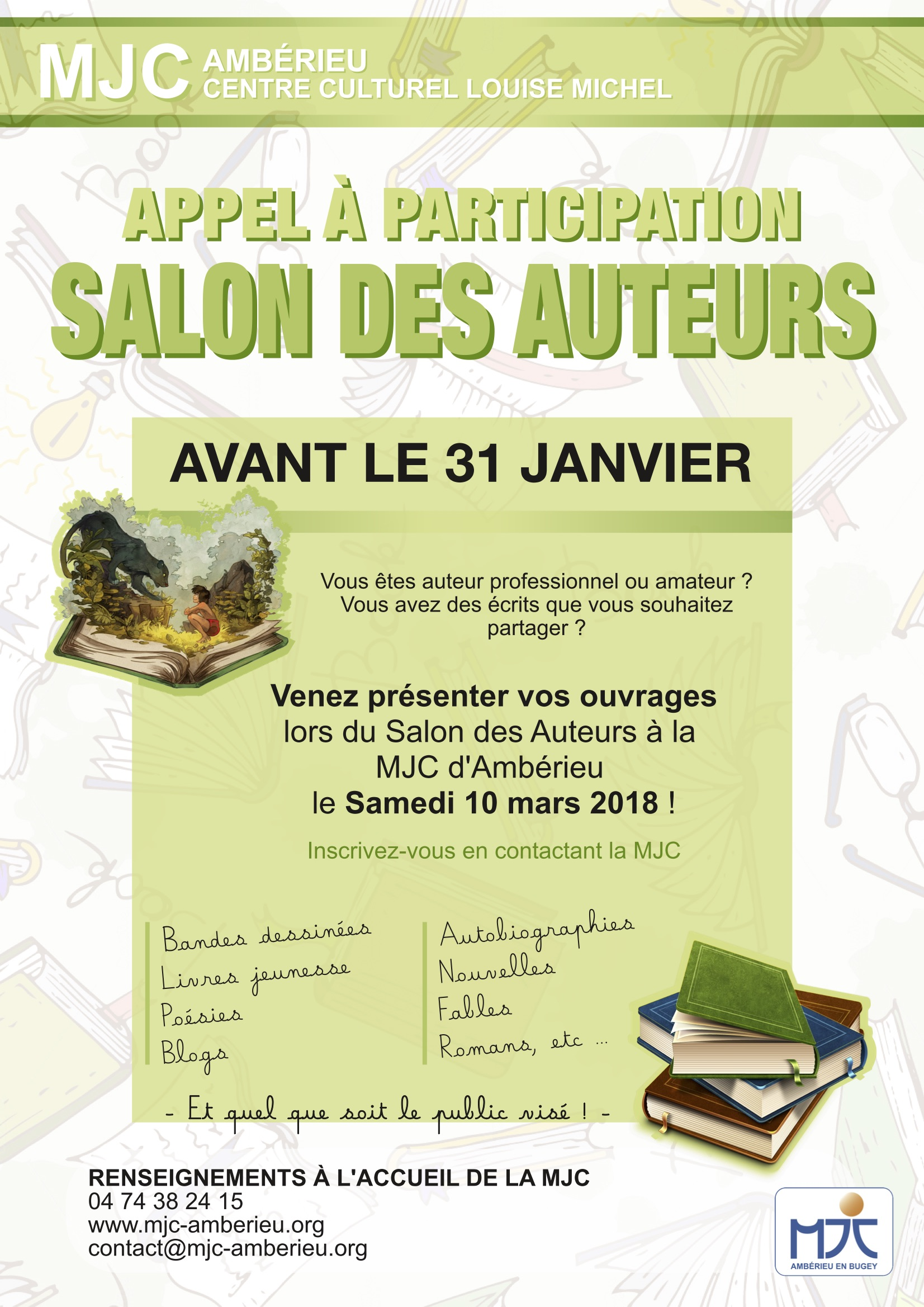 Salon des Auteurs Participants